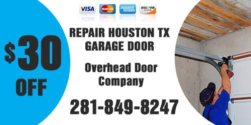 Repair Houston TX Garage Doors Coupon