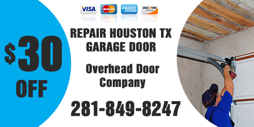 Repair Houston TX Garage Doors Coupon